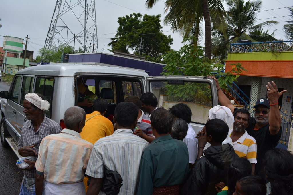 Chennai Flood Relief work 1